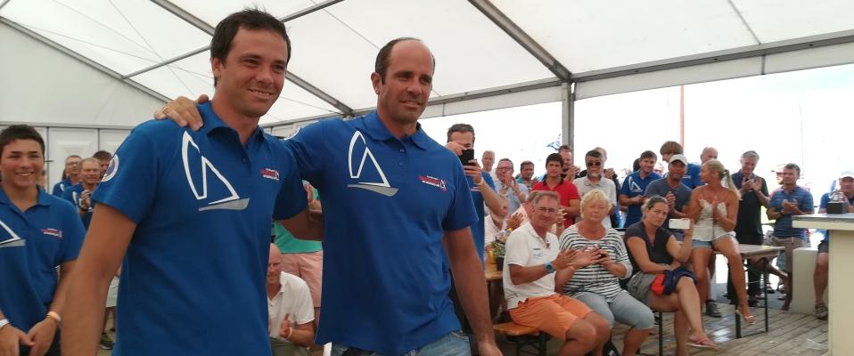 Complimenti a Francesco e Nicola Vespasiani(ITA 4) che conquistano il terzo posto al Campionato del Mondo FD 2018 a Medemblik